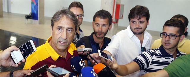 """Casimiro: """"El equipo está bien y con ganas e ilusión para jugar la Supercopa"""""""
