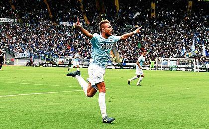 Immobile vuelve a reinar en la Serie A.