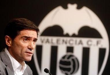 """Marcelino: """"El equipo compite, aunque nos gustaría tener más victorias"""""""
