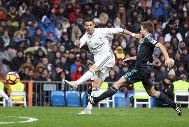 El Real Madrid lleva 12 años marcando en el estadio de Anoeta