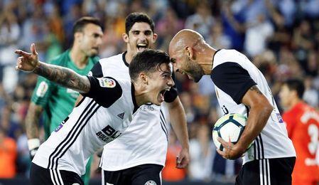 5-0. Zaza fulmina al Málaga con un triplete y convierte Mestalla en una fiesta