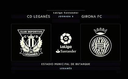 Leganés-Girona, en directo