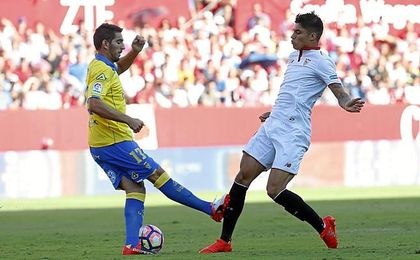Imagen del Sevilla-Las Palmas de la 16/17.