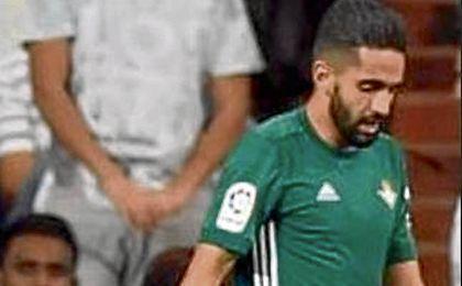 El argelino jugó media hora en el Bernabéu.