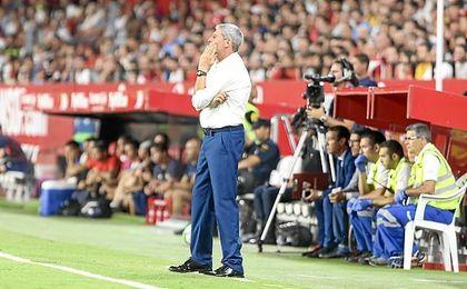 """Márquez cree que """"a Vitolo lo han querido tanto en el Sevilla que por eso les duele tanto""""."""