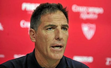 Eduardo ´Toto´ Berizzo, entrenador del Sevilla F.C.