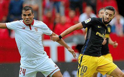 El Atlético-Sevilla FC, en directo: Gol de Carrasco