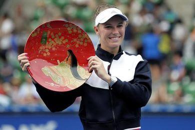 Caroline Wozniacki se estrena por fin en 2017 con el título