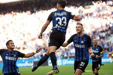 El Inter se pone tercero con un 1-0 al Génova y el Lazio golea 3-0 al Verona