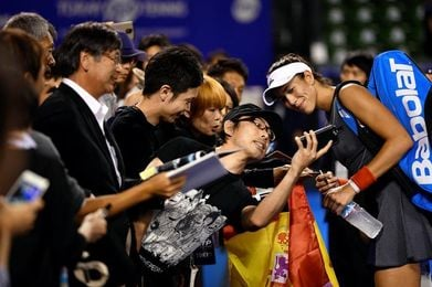 Garbiñe Muguruza prolonga su liderato en la WTA en una semana sin cambios