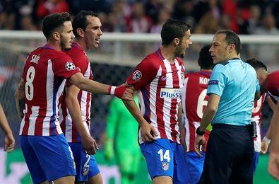 El turco Cakir en el Atlético-Chelsea y el rumano Hategan en el Sporting Lisboa-Barcelona