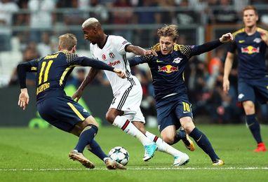 2-0. Al Besiktas le basta un buen primer tiempo para vencer al Leipzig