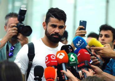El Atlético completa el fichaje de Diego Costa