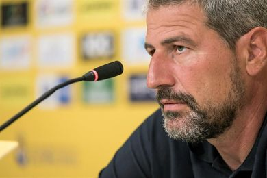 El entrenador de la UD Las Palmas presenta su dimisión