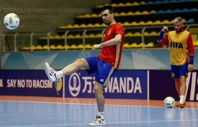 España, contra Azerbaiyán y Francia en el grupo D de la Eurocopa 2018