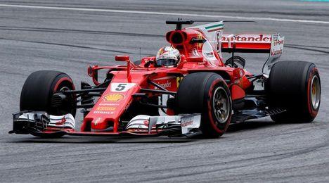 """Vettel: """"Tenemos un coche rápido, debería ser fácil remontar posiciones"""""""
