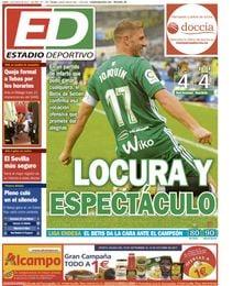 La portada de ESTADIO Deportivo.
