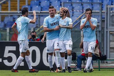 El Inter gana y el Lazio golea con doblete del español Luis Alberto