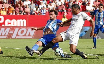 Las notas del Málaga ante el Sevilla