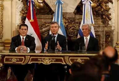 """Macri confía en un """"buen resultado"""" de Argentina ante Perú este jueves"""