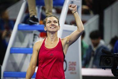 Sharapova, eliminada del Abierto de China tras caer derrotada ante Halep