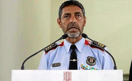 Josep Lluís Trapero, Mayor de los Mossos d´Esquadra.