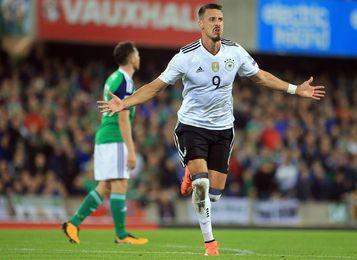 1-3. Alemania sella con claro triunfo en Belfast su clasificación a Rusia