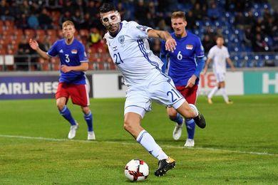 0-1. Israel cumple con un gol de Tibi