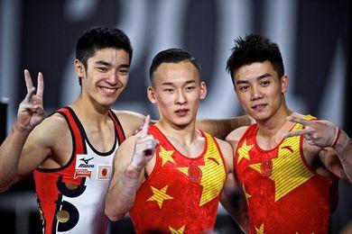 El chino Ruoteng Xiao consigue el oro en el concurso completo del Mundial