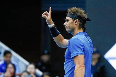 Nadal-Dimitrov y Zverev-Kyrgios, semifinales de alto voltaje en Pekín