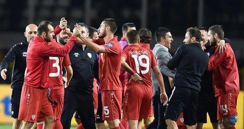 1-1. Una Italia gris no pasa del empate ante Macedonia
