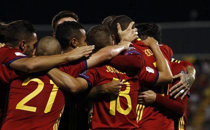 España inició su clasificación en septiembre de 2016.