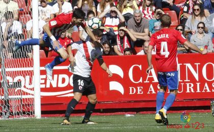El filial se llevó una goleada de Gijón.
