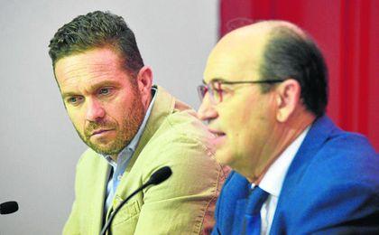 Luis García Tevenet y José Castro se reunieron el viernes en las dependencias del Sánchez Pizjuán.