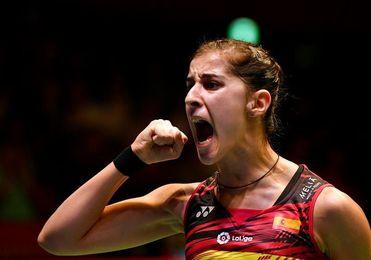Carolina Marín volverá a jugar en enero Liga india con el Hyderabad Hunters