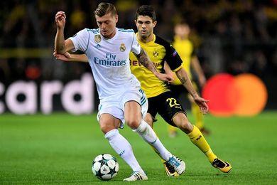 Kroos arranca la semana sumándose al reducido grupo sin internacionales