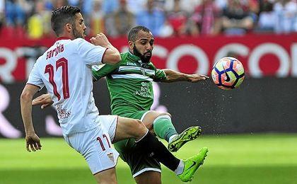 Imagen del Sevilla-Leganés de la pasada temporada.