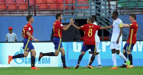 4-0. España se desquita goleando a Níger