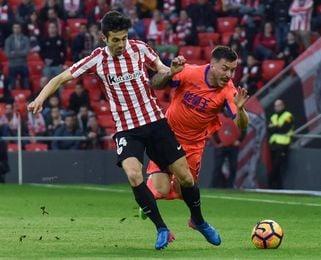 Susaeta alcanzará a Larrazabal como séptimo jugador con más partidos