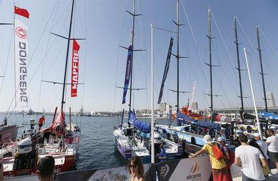 La flota de la Volvo Ocean Race ya se encuentra en Alicante