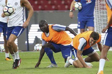 El Chelsea pierde a Kanté durante tres semanas por lesión