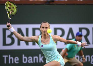 Rybarikova, Strycova, Buzarnescu y Golubic disputarán las semifinales
