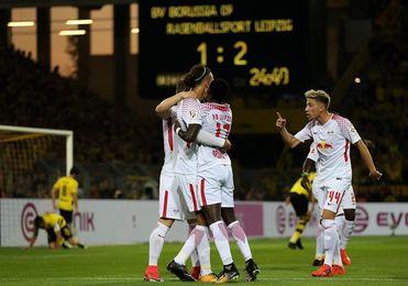 El Leipzig acaba con la condición de invicto del Dortmund en la Bundesliga