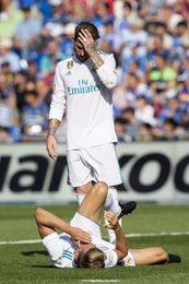 Ramos jugó tras pincharse suero y tener vómitos