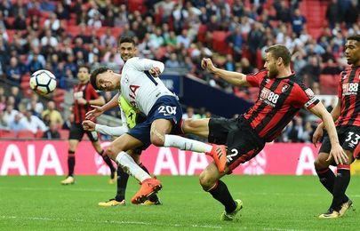El Tottenham gana con lo justo al Bournemouth antes de visitar al Real Madrid