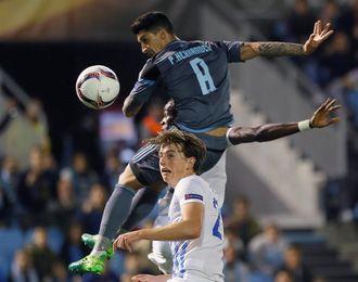 ´Tucu´ Hernández se reincorpora a los entrenamientos del Celta