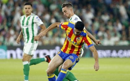 Betis 3-6 Valencia: Pereira pone la puntilla