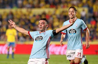2-5. Iago Aspas y el Celta aplastan al Las Palmas