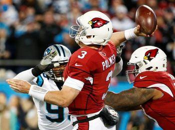 38-33. Peterson logra dos anotaciones en su debut con los Cardinals