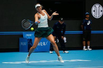 Sharapova saca 29 posiciones de renta tras su victoria en Tianjin